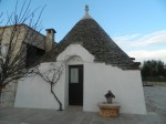 Trullo con caminetto