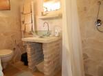 Toilette trullo appartamento
